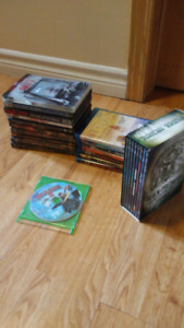 Dvds and bluray