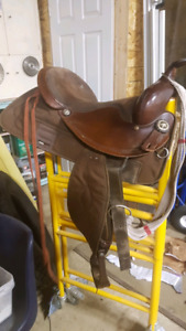 Big Horn Saddles - Brown #281 and Black#133