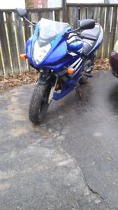 Great starter bike! GSF 500