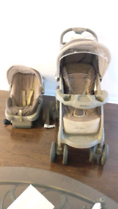 Baby stroller and car seat(Eddie Bauer)