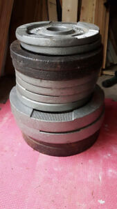 """2"""" Olympic Weight Plates -260LBS"""