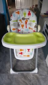 Cosatto padded high chair