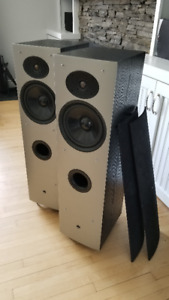 Athena AS-F1 tower speakers