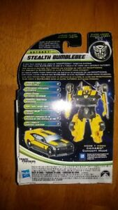 Transformers DOTM Dark of the Moon Cyberverse Stealth Bumblebee