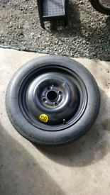 Ford space saver wheel