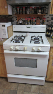 Nice gas stove for sale.