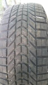 """Set of 4-225/60/17"""" WinterForce tires"""