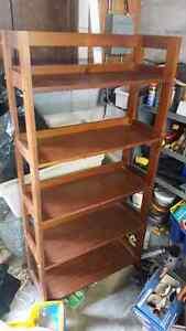 bombay company wood bookshelf