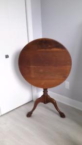 Table bascule