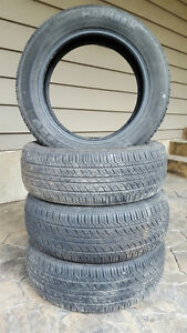 Four Hankook Optimo H420 Tires