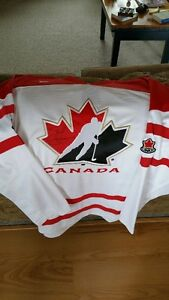 Team Canada jersey signed by Steve Yzerman