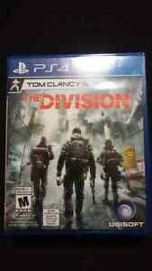 THE DIVISION PS4 GAME FOR SALE