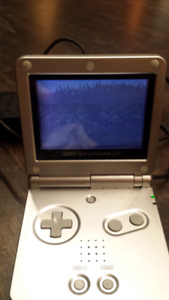 Nintendo Gameboy Advance SP AGS-001 with Pokemon Ruby