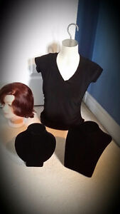 Craft show display mannequin female torso w. hook for hanging