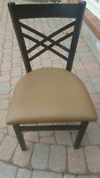 Black Powder Coded Frame Chairs