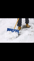 Snow shoveling in MILTON for a reasonable price