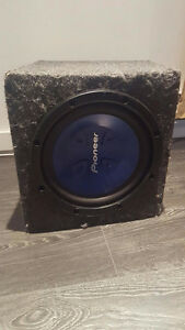 Pionner TS-W301R Subwoofer URGENT NEGOCIABLE