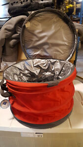Coolers - round collapsible, triangle collapsible, rolling