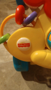 Yellow lion baby walker fisher price