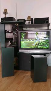 Meuble et television