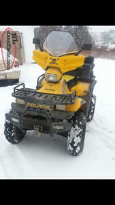 2002 polaris sportsman 500 H.O with papers