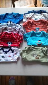 Lot vêtements garçon 3-24 mois (au moins 200 morceaux)