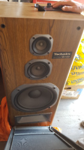 Technics Amplifier system and speakers