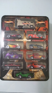 HOT WHEELS DECADES 1900-2000 VW DRAG BUS DIECAST 10 CARS SET