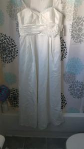 White Wedding Dress size 16