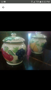 Cookie jar handcrafted