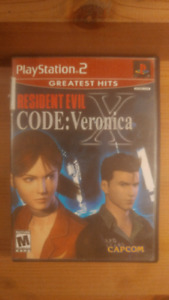 Resident Evil Code: Veronica X - PS2