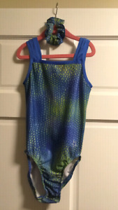 GYMagic Adult Small leotard and scrunchie