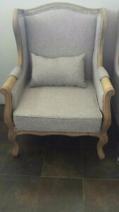 Two rustic antique-looking arm chairs, BRAND new, $150 obo