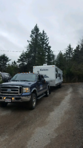 Travel trailer movements, moving towing. EMERGENCY SERVICE.