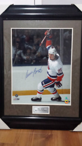 Mike Bossy New York Islanders signed photo