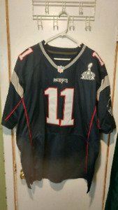 N.E. Pat's Super Bowl Jersey and Hat