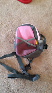 EEUC Brica grey and pink toddler back pack