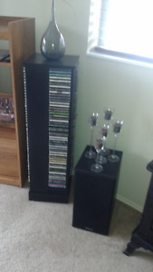 cds and stand
