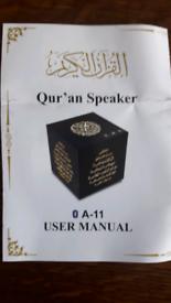 Islamic qur'an speaker new boxed