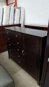 Dresser with side storage - Delivery Available