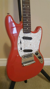 Squier Vintage Modified Mustang w/ Upgrades