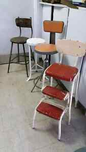 Wanted old metal stools London Ontario image 1