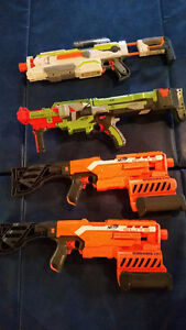 Various Nerf guns or whole package