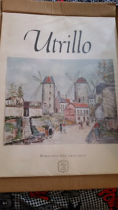 Vintage prints french artist really cheap low price