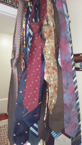 Mens Ties 30 in total. $ for all