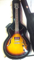 2006 Ibanez AS-73 – Brown Burst /w Deluxe OHSC
