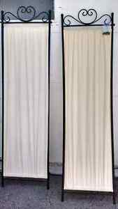 10 pieces of cloth room dividers