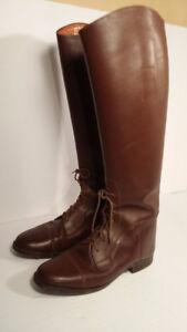 Bottes d'équitation - Ado/femme - taille 5.5 -horse riding boots