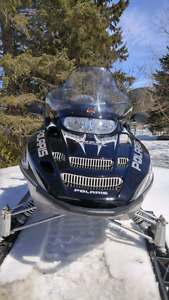 Motoneige polaris edge touring 550 fan 2005