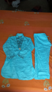 age 10 to 14 year fit fancy kurta pajama for sale